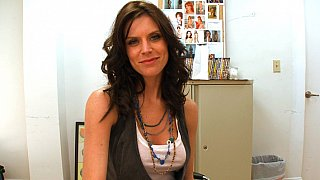 Cute Violet Raye interviewed by BangBros Preview Image