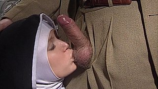 Shy European Nun gets her ass fucked good and hard Preview Image