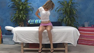 Kara gets her clothes off. Massage Preview Image