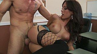 Capri Cavalli having sex at work Preview Image