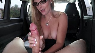 College chick gets pounded in our bus Preview Image