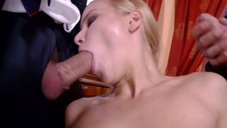 Little Cindy bathed in cum Preview Image
