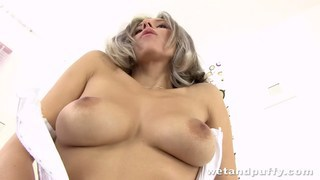 Stunning young lady drilling her cunt passionately Preview Image