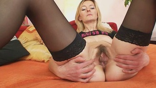 Skinny hairy pussy milf Antonie first time video Preview Image