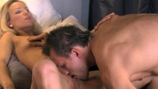 Hot_blonde_babe_sucks_and_gets_fucked_with_extra_large_hard_cock Preview Image