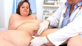 Curvy mamma brunette gets a gyno Preview Image
