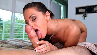 Rachel_Roxxx_working_her_tongue_all_over_his_rocket Preview Image