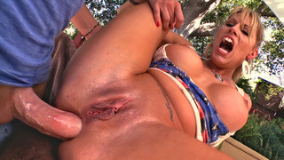 Charisma Cappelli anal fucked by Mike's stiff pole Preview Image