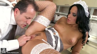 Naughty maid Bettina DiCapri fucks with her patient Preview Image