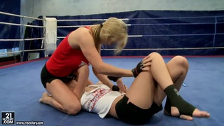 Nikita and Tanya Tate fool around in_a fight club Preview Image