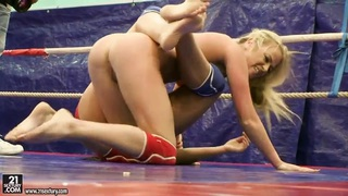 Pretty girls_are having_lesbian wrestling Preview Image