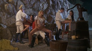 Hot orgy with girls from the past Alektra_Blue_and Kortney Kane Preview Image