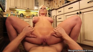 Hot bombshell Kaylee Brookshire fucks_in the kitchen Preview Image