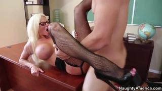 Giovanni Francesco pleasures blonde milf Nikita Von James Preview Image