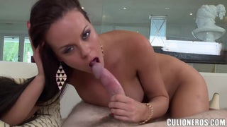 Hot milf Rahyndee_fucks wtih muscled stud Preview Image