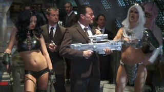 Men In Black A Hardcore Parody by Alektra Blue, India Summer, jessica drake, Kaylani Lei, Misty Ston Preview Image