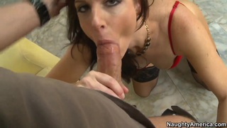 Hot brunette India strips and sucks Preview Image