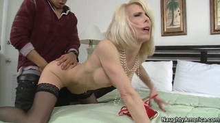 Couple Bruno Dickemz and Jodie Stacks hose fucks in front of camera Preview Image