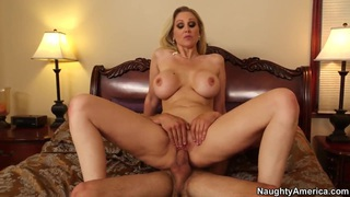 Busty milf Julia Ann pleasures Tyler Nixon Preview Image