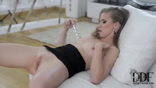 Beautiful Kortny stuff cunny with glass dildo Preview Image