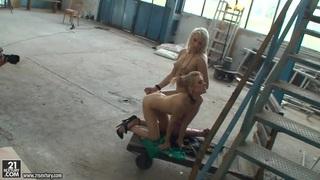 Michelle Moist and Viktoriah in hot femdom scene Preview Image
