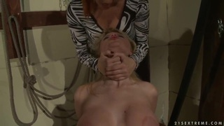 Natasha Brill is being taught a sexy lesson by hot mistress Katy Parker Preview Image