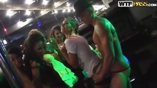 Sexy Russian lesbians fucking in the strip club! Preview Image