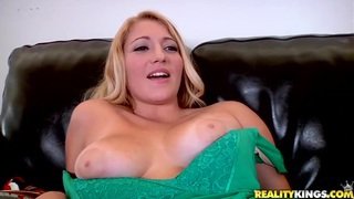 Precious blonde babe with tight big boobs showing cunt rubbing! Preview Image