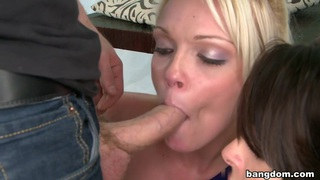Two girls come in to get their mouths... Preview Image