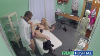 Fake Hospital Hot blonde gets the full doctor treatment Preview Image