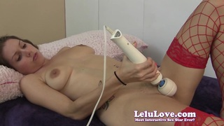 Lelu Love-Stockings Masturbation Blowjob Cum On Tits Preview Image