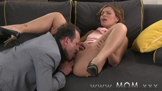 MOM Brunette MILF gets fucked before date night starts Preview Image