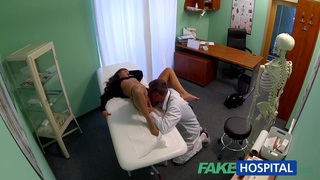 FakeHospital Teen model cums for_tattoo removal doctor Preview Image