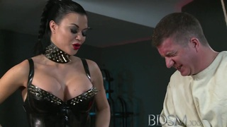 BDSM XXX Slave straight jacket and anal hook Preview Image