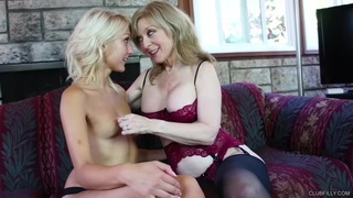 Nina_Hartley_and_Natasha_Voya_-_The_Kitty_Creamed Preview Image