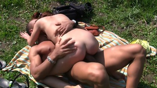 Michele_in_naughty_gal_gets_fucked_hard_in_the_park Preview Image