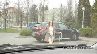 Teen hitchhiker sucks_and_fucks in a car Preview Image
