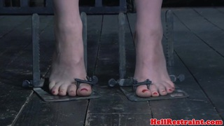 Restrained sub punished with electrosex Preview Image