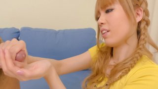 Kinky_Sakura_Hime_turns_the_tables_on_her_fuck_buddy_by_jerking_his_cock_and_stuffing_his_ass... Preview Image