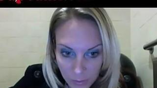 Webcam Girl Masturbates In Starbucks Bathroom Preview Image