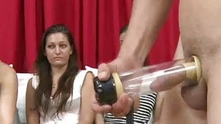 Male sex toys used while women watch Preview Image