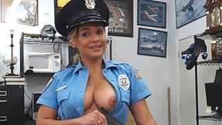 Sexy Cop Sucking Dick In Back Office Of Pawn Shop Preview Image
