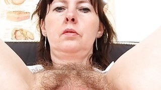 Nurse Practitioner gapes her hirsute cunt Preview Image