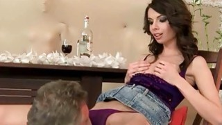 Grandpas and Pretty Teen Brunettes Compilation Preview Image