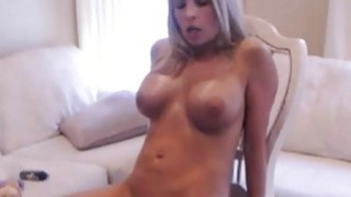 Amateur blonde milf fucked by sexmachine deep on cam Preview Image