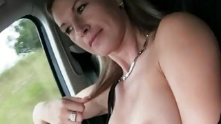 Euro beauty Alena pays for ride with sex Preview Image