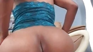 Hot ass lesbo ebony humps a fat pink dildo Preview Image