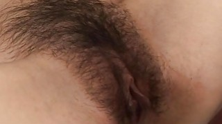 Asian lass gets her hairy pussy fingered and toyed Preview Image