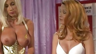 Big boobed blonde lezzies fuck ahrd at Alfred Hitchdick show Preview Image