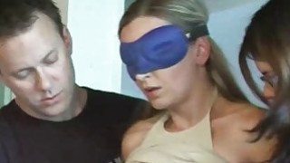 Hot guy having_fun_at hogtied blonde expense Preview Image